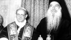 Audio recording of the meeting of Pope Paul VI and Ecumenical Patriarch Athenagoras from 1964