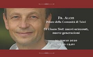 Lecture of Brother Alois on the encylical ``Ut unum sint``