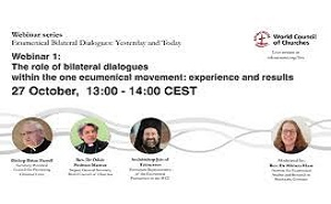 Bishop Farrell attends a webinar of the WCC on bilateral dialogues
