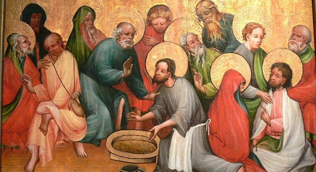 DAILY MEDITATION: ``After Jesus had washed the feet of the disciples...``