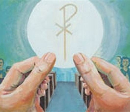 DAILY MEDITATION: ``If you do not eat the flesh of the Son of Man and drink his blood, you have no life in you``