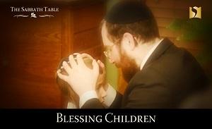 Blessing the Children on Shabbat