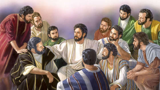 DAILY MEDITATION: ``Lord, teach us to pray, just as John taught his disciples``