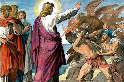 DAILY MEDITATION: ``As Jesus was casting out a devil...``