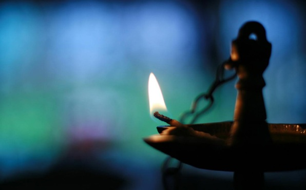 DAILY MEDITATION: ``Keep your lamps lit, like people waiting for their master to return from the wedding``