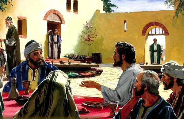 DAILY MEDITATION: ``He had noticed how they tried to take the places of honor``