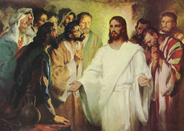 DAILY MEDITATION: ``Look at my hands and feet and see that it is I myself``