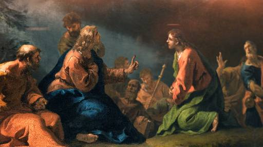 DAILY MEDITATION: ``Whoever would be great among you must be your servant``