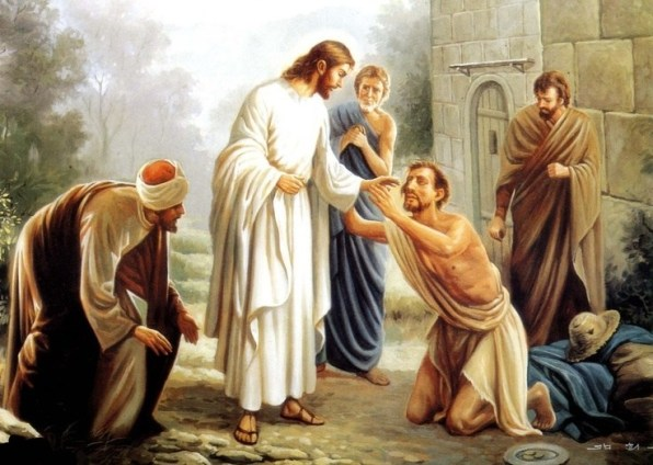 DAILY MEDITATION: ``'What do you want me to do for you?'. The blind man said, 'Master, let me see again!'``