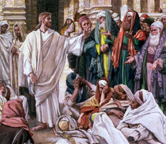 DAILY MEDITATION: ``Which commandment is the first of all?``