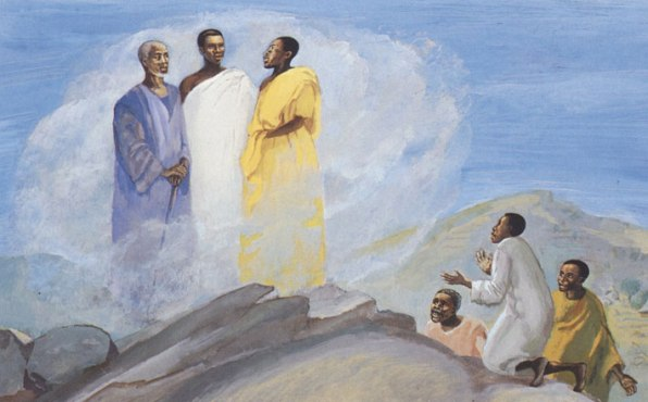 DAILY MEDITATION: ``Master, it is good that we are here``