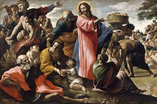 DAILY MEDITATION: ``Raised his eyes to heaven``