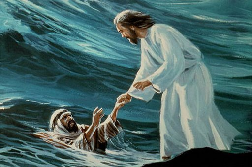 DAILY MEDITATION: ``Lord, if it is you, command me to come to you walking on the water``