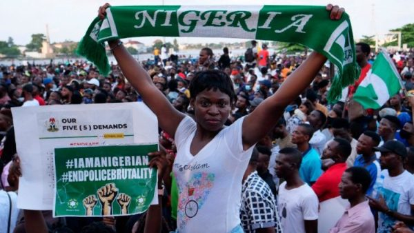 Why did Pope Francis pray for Nigeria on Sunday?