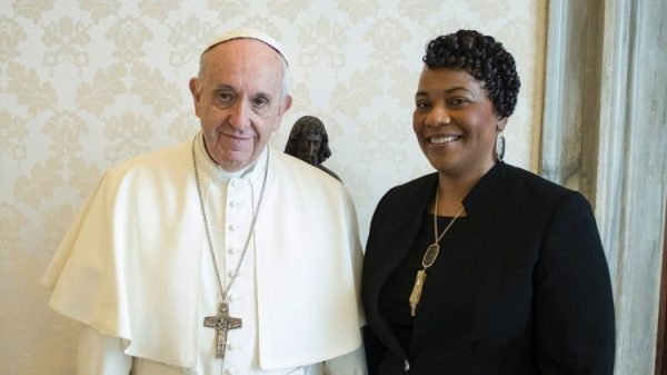 Bernice King: The Pope and my father, united in the same dream