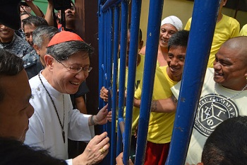 Tagle celebrates Christmas Mass with prisoners