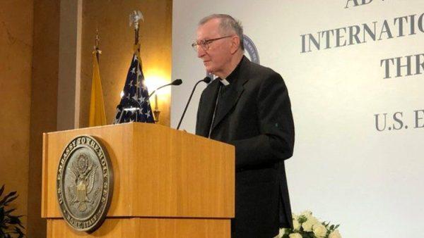 Parolin: Defending religious freedom a hallmark of Vatican diplomacy