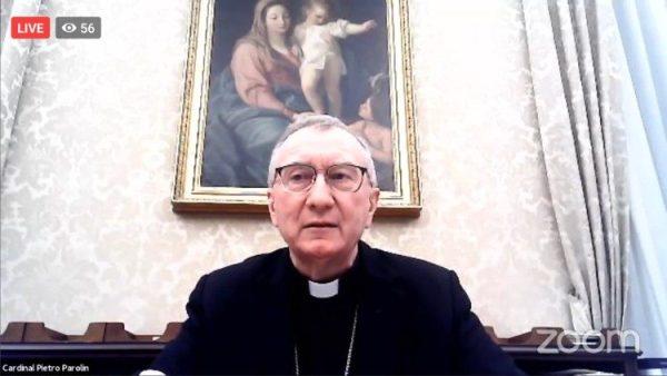 Cardinal Parolin: Interreligious dialogue necessary tool to combat anti-semitism