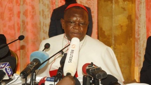 DRC: Cardinal Ambongo forgives persons who stormed residence