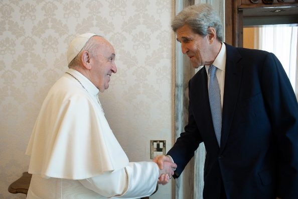 John Kerry: Pope Francis one of greatest voices on climate crisis