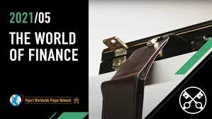 May 2021: 'For the world of finance'