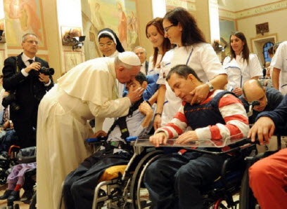 Message of His Holiness Pope Francis for The 25th World Day of The Sick 2017