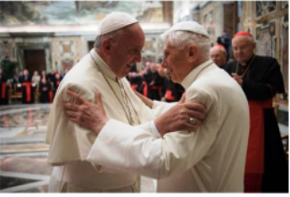 Relationship between Benedict XVI and Francis