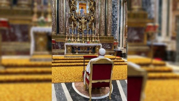 Pope Francis thanks Mary for visit to Budapest and Slovakia