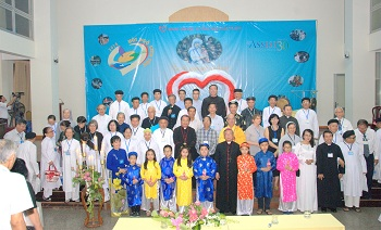 Interfaith gathering celebrates mercy in Vietnam