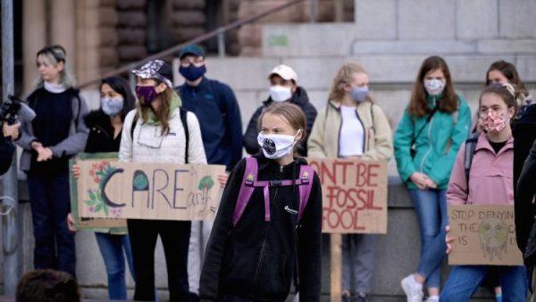 Global youth rallies over climate return amid coronavirus