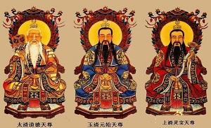 The Three Purities of Taoism