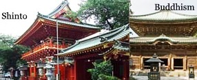 3 Things to know about Shintoism and Buddhism