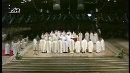 Messe internationale de la fête de Notre-Dame de Lourdes