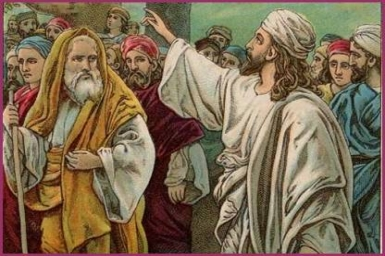 """""""Truly, I say to you, anyone who hears my word and believes him who sent me, has eternal life"""" - Wednesday 4th of Lent"""