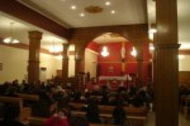 Kirkuk: Christians celebrate reopening of parish of the Blessed Virgin