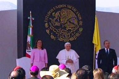 Welcoming ceremony address of His Holiness Benedict XVI