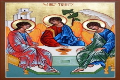 ``Baptize them in the Name of the Father and of the Son...``: Trinity Sunday
