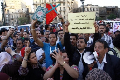 Christians and Muslims march together against Islamist hegemony