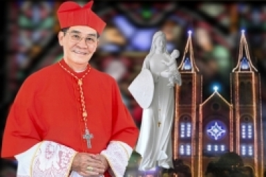 Cardinal John Baptist Pham Minh Man's Christmas greetings and wishes