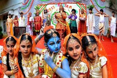 Krishna Janmashtami celebration