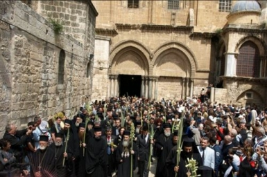 Christians ask for less police checkpoints in Jerusalem during Easter celebrations