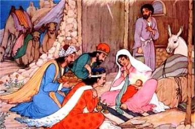 They knelt and worshipped him: Gospel by pictures of the Feast of Epiphany (6 Jan. 2013)