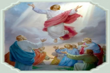 The Ascension of Jesus Christ: 7th Sunday`s Gospel of Easter by pictures