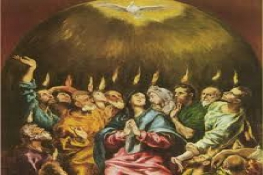 Gospel by pictures of the Day of Pentecost (May 19th, 2013)