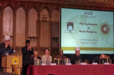 GMA applaud Ahmadiyya community UK for hosting Conference of World Religions
