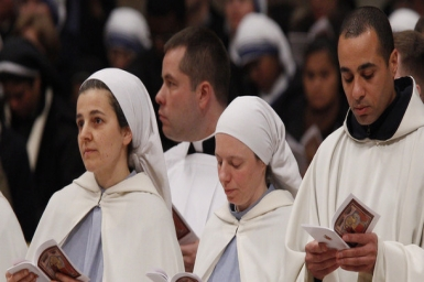 Pope's Homily for World Day of Consecrated Life