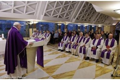 Pope at Santa Marta: An invitation to do good