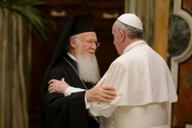 Bartholomew I with Pope Francis in Jerusalem to bear witness to a globalised and broken world