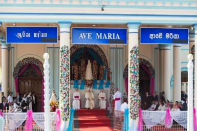 Pope Francis: Marian Prayer at the Shrine of Our Lady of Madhu