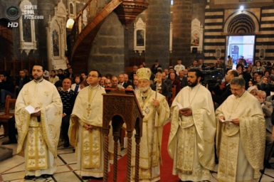 Gregory III urges Christians in the Middle East not to emigrate